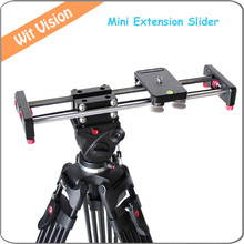 New Item 50CM Portable Extension Track Dolly Slider With 1/4″ 3/8″ for All DSLR Video Cameras and Camcorders With Carrying Bag