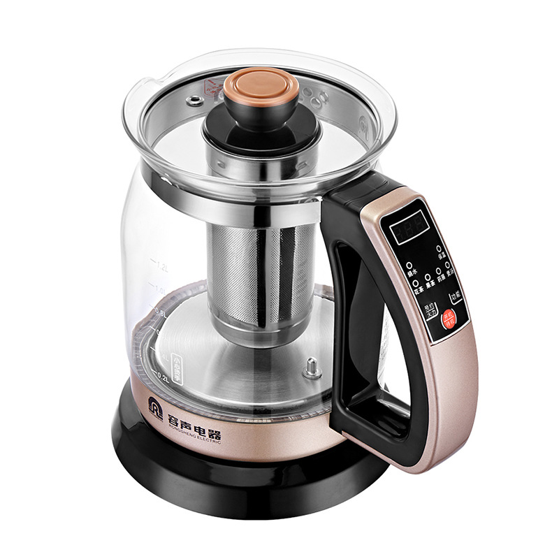 heat maintaining kettle glass tea pot cook mini chaleira eletrica hot water pot health pot electric kettle glass smart kettle
