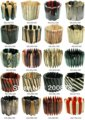 MW-02 Best Wholesale Price For Tibetan Yak Bone BOHO Bangles Strech,mix order 100pcs Free shipping