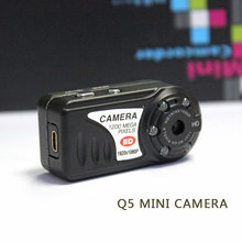 8GB TF card 1080p Metal Mini Camcorders Thumb Mini Dv Digital Camera Recorder Q5 Hd Nigth Vision Q5 Camorder DVR IP Audio Video