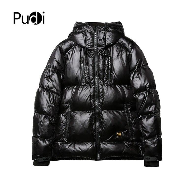 PUDI MT891 2018 nouveaux hommes polyester canard vers le bas manteau automne hiver manteau garçon sport t-shirt loisirs manteau