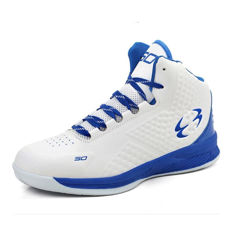Women Basketball High Sneakers Boys Sport Blue/Black Sport ...