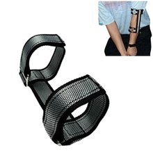 Golf New Hand Practice Elbow Brace Swing Trainer Aids Swing Hand Straight Posture Corrector Support For Beginners Arc Trainer(China)