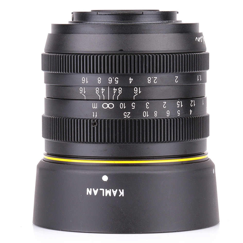 Kamlan 50mm F1.1 APS-C Large Aperture Manual Focus Lens for nikon N1 amount Free Shipping