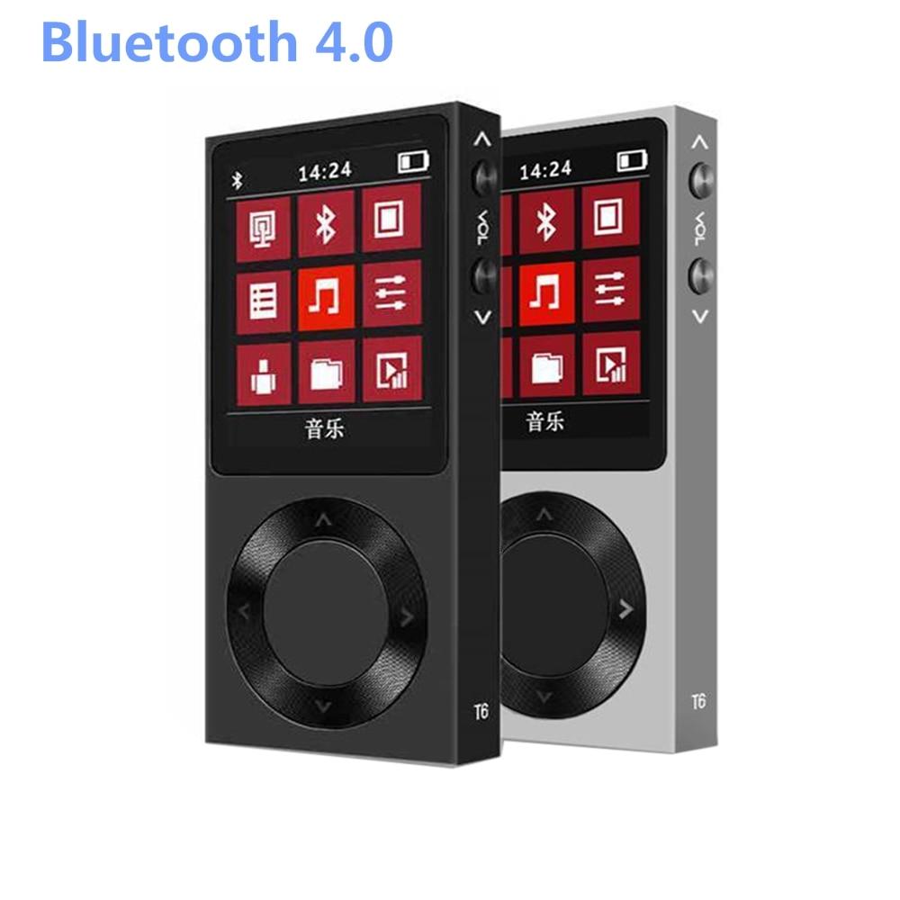 Newest BENJIE T6 24Bit/192khz DSD Bluetooth Entry-level HiFi Lossless Music MP3 Player 1.8 LCD Screen Digital Audio Player DAP