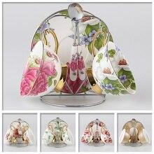 Wählen Britischen Royal Bone China Kaffeetassen Liebhaber Paar Tassen keramik Tee-Tasse und Untertasse Set Erweiterte Porzellan Becher Für geschenk