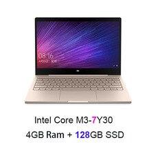 Gold English Xiaomi Air 12 Laptop Notebook Ultra Slim 12.5 inch Windows 10 IPS FHD 1920 x 1080 4GB RAM 128GB SSD HDMI 2.2GHz(China (Mainland))