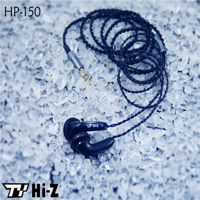 Original TY Hi-Z HP150 Portable Earphone High Sensitive Enduring Earbud Wired In-ear HiFi Flat Head Earphone Without Microphone