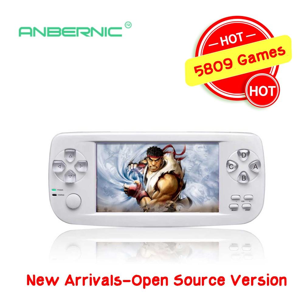 Console De jeu Portable d'enfance 64 bits 4.3 pouces Consolas De vidéo Juego Console De jeu vidéo PAP-KIII cadeau pour enfants 07