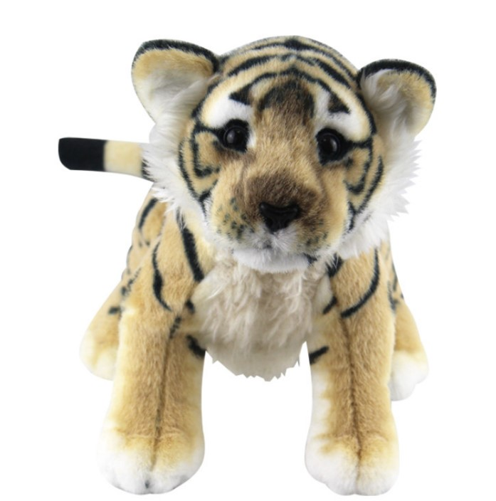 Xmas gift Soft Stuffed Animals Tiger Plush Toys Pillow Animal  Kawaii Doll Cotton Girl Brinquedo Toys For Children stuffed animal 110cm plush tiger toy about 43 inch simulation tiger doll great gift free shipping w018