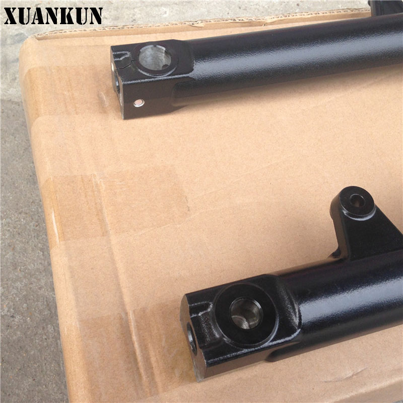 XUANKUN GW250 Front Shock Absorber Assembly Front Fork Assembly Up and Down Board Direction Column Assembly