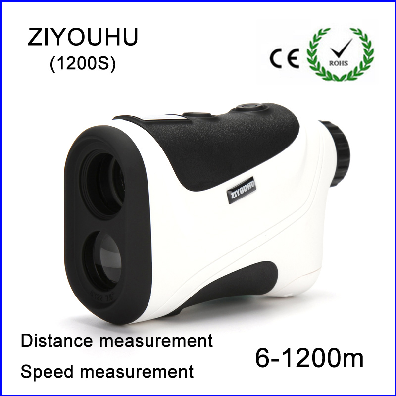 цены  2017 New Hunting Monocular Telescope 6X25 Golf Laser range Distance Meter Speed Rangefinder 1200m Range Finder for Golf Sport