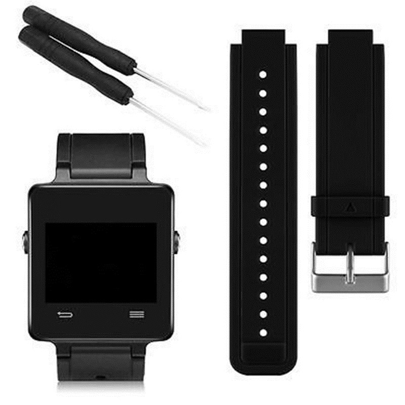 Najnowszy silikonowy pasek do zegarków Wsparcie nadgarstka Pasek do zegarka Pasek do zegarka Garmin Vivoactive Smart Watch With Tools