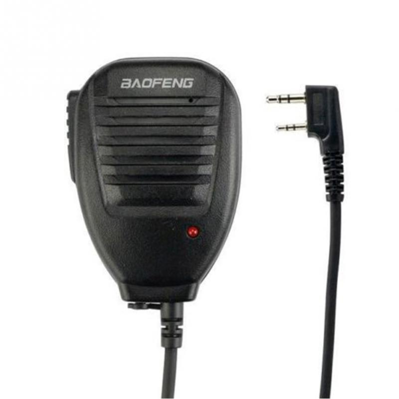 Professional PTT Speaker Microphone Walkie Talkie For Baofeng UV-5R Bao Feng BF-888s TYT Ret Mic Accessories