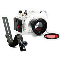 Для Sony RX100 DSC RX100 40 м/130ft Водонепроницаемый подводный Корпус чехол + Дайвинг ручка + фильтр