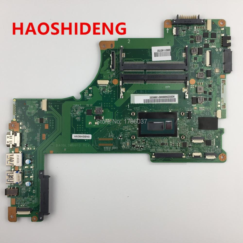 цена на A000296880 DA0BLIMB6F0 for TOSHIBA Satellite S50 S55 S55-B5280 series motherboard with I7-4510U,All functions fully Tested!
