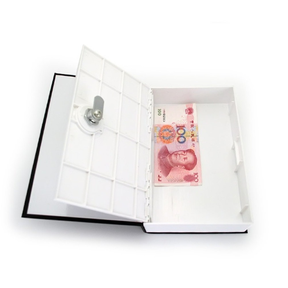 MIni Home Security Dictionary Key Book Safe/Lock Box/Storage/Piggy Bank Creative Money Box Home Accessories