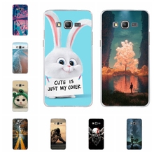 For Samsung Galaxy Grand Prime Cover Soft TPU For Samsung Grand Prime G530 G5308W Case Cat Pattern For Samsung Grand Prime Shell