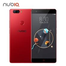 Oryginalny Nubia Z17 Telefon komórkowy 6 GB RAM 64 GB ROM Octa Rdzeń 23.0MP + 12.0MP Dual Powrotem Kamery Linii Papilarnych NFC 1920*1080 FHD