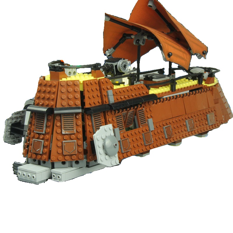 Lepin Star War Series 05090 The Jabba\'s Sail Barge Set 821Pcs ...
