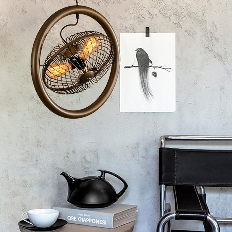 Vintage industrial pendant lights fixture creative pendant - Lampara industrial vintage ...