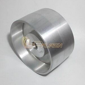 Image 2 - 180*100*25mm w pełni aluminiowe koło kontaktowe szlifierka taśmowa koło napędowe