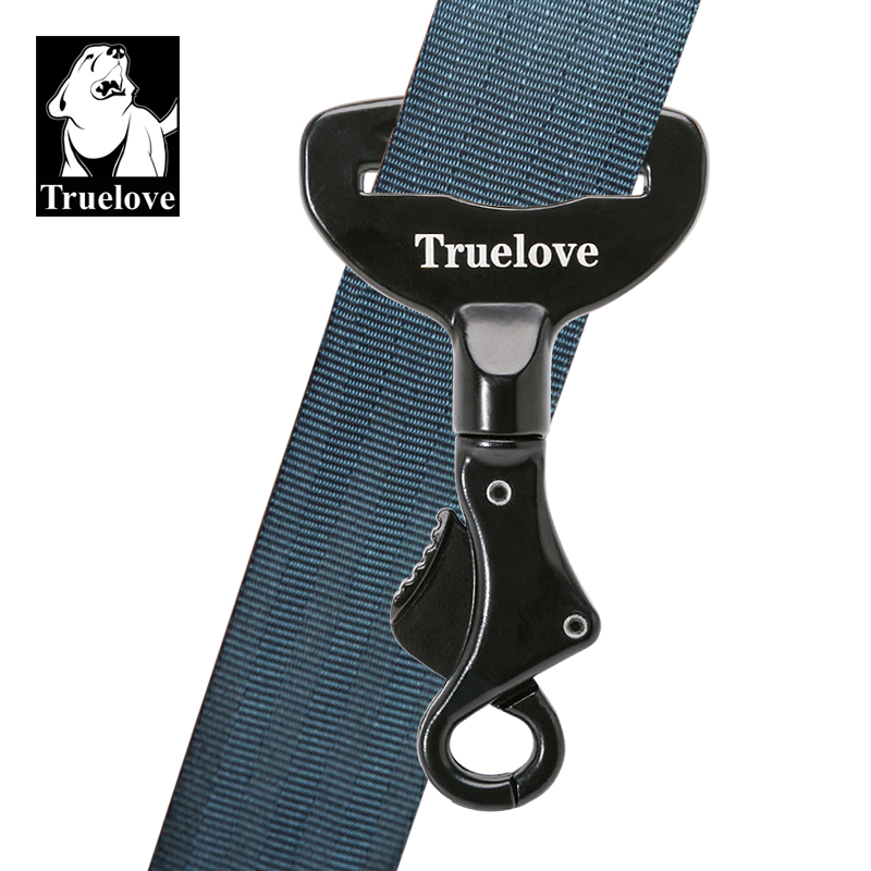 TrueLove Pet All Car Seat Belt Safety Buckle with Collar or