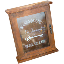 Wooden House Key Box Storage Case Hanger