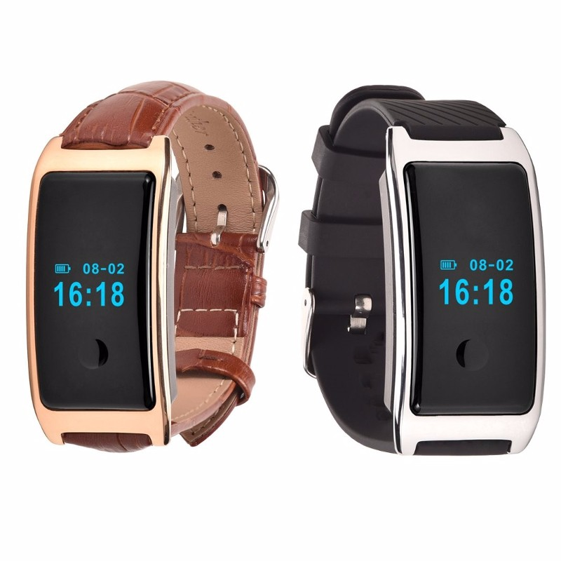Bluetooth Waterproof Smart Watch Wearable Devices With Heart Rate Wristband Intelligent Smart Watch For Android IOS