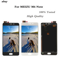 5.5 For Meizu M6 Note M721C M721M M721Q M721H LCD Screen Display+Touch Panel Digitizer For Meizu Meilan Note 6 LCD Display