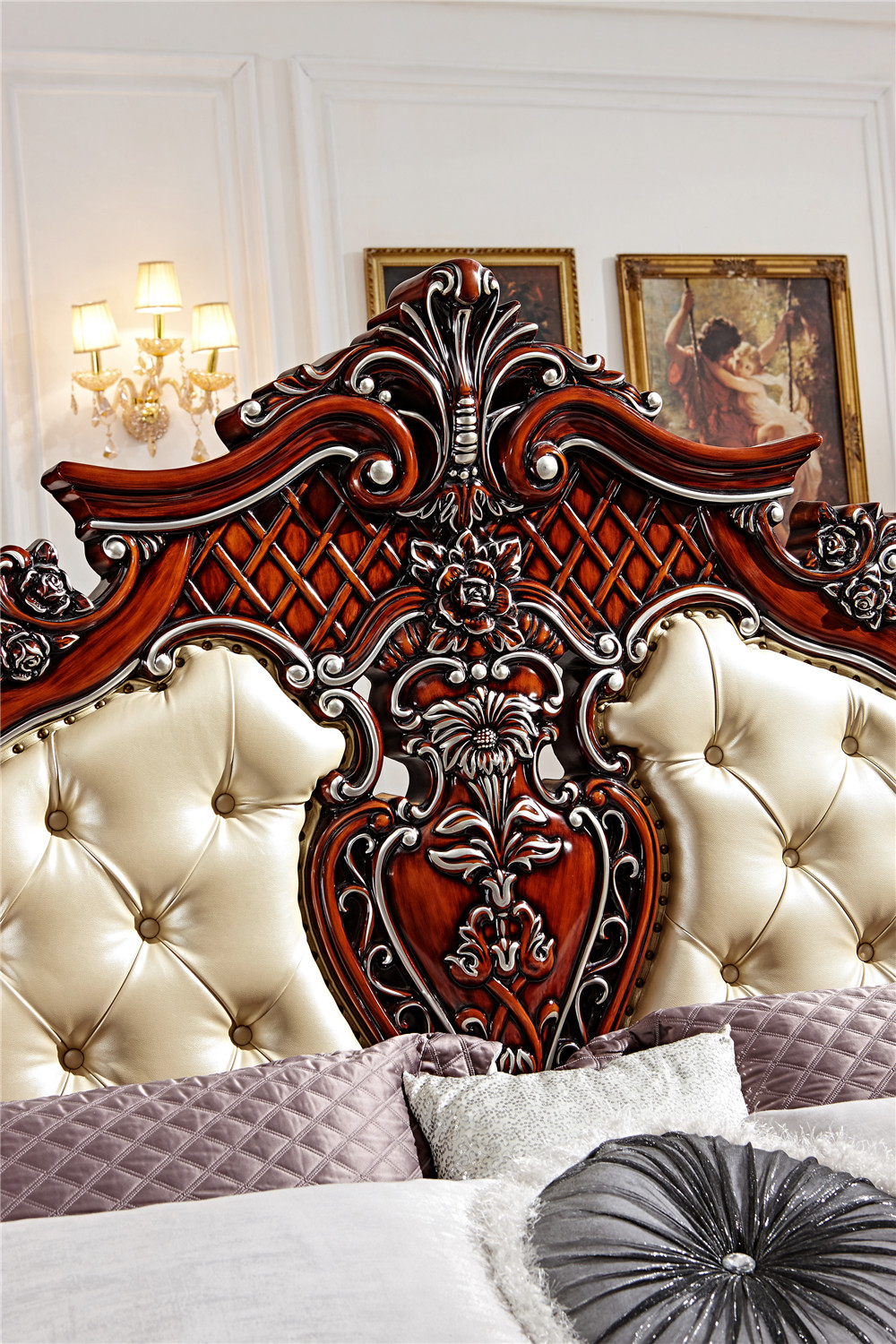 Wooden box bed designs pictures - European Double Bed Design Wooden Box Bed 0409 F102 In Beds From Furniture On Aliexpress Com Alibaba Group