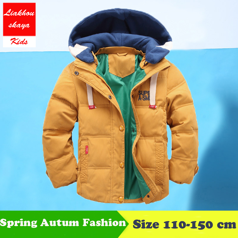 Liakhouskaya 2018 Fashion Hickened Boys Winter Jackets Children Winter Coats Duck Parka Down Coat For Boys Solid Boys Snow Wear цены онлайн
