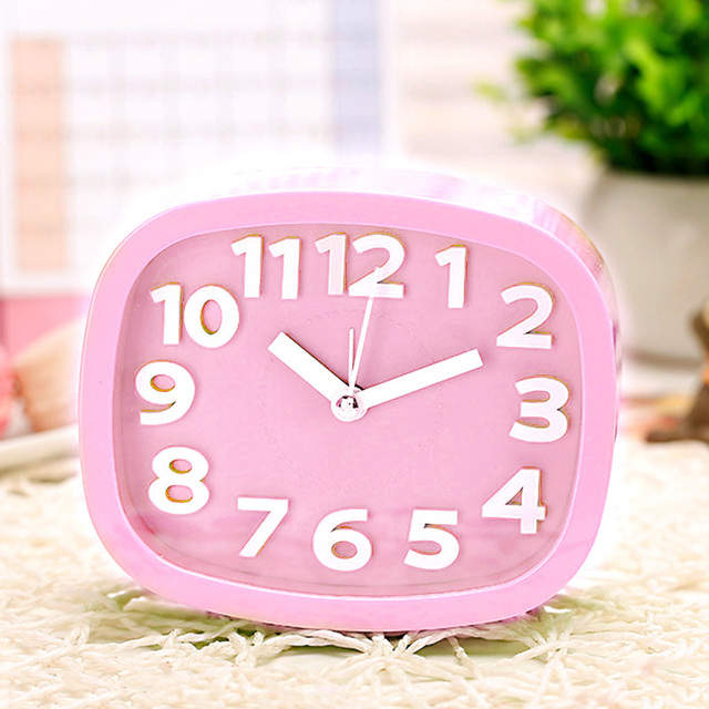Hot Selling Alarm Clock Kids Students Bedroom Desk Table Clock ...