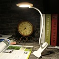 1Pc Modern White Bright Clip LEDs USB Mini Light Flexible Computer Lamp Laptop PC Desk Reading Adjustable Table Lights