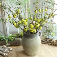 1 Pc Artificial Branch for Decoration Simulation Artificial Pomegranate Branch Foam Pomegranate Bouquet Fake Pomegranate Bush