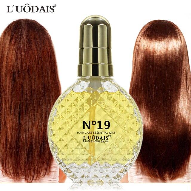 LUODAIS Makeup keratin pelurus rambut Perawatan Rambut Minyak Esensial  Parfum Minyak Merek pelurus rambut minyak argan 2bad7355af