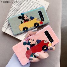 YHBBCASES Blu-ray Cartoon Soft Cover For Samsung Galaxy S10 Plus S8 S9 A8s A9s Cases Cute Mickey Phone Case Note 8 9