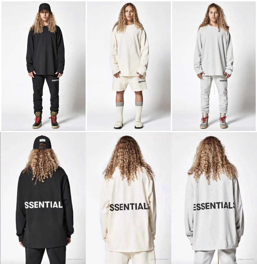 5871ab43 Detail Feedback Questions about Fear Of God T shirt Men Women 1:1 ...