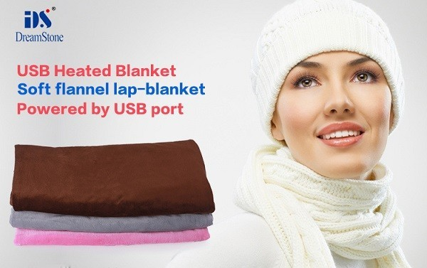 ФОТО Free Shipping 2016  Best Selling Newest USB Infrared Heating Blanket And Pad 5v winter warmer blanket electric blanket 45*100cm
