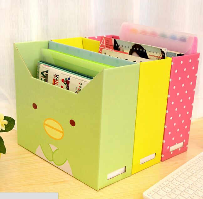 Superieur DIY Desktop Storage Box Lid Dust Thicker Paper File Storage Box Finishing  Box Office Makeup Organizer 33*28*11CM 12 Style In Storage Boxes U0026 Bins  From Home ...