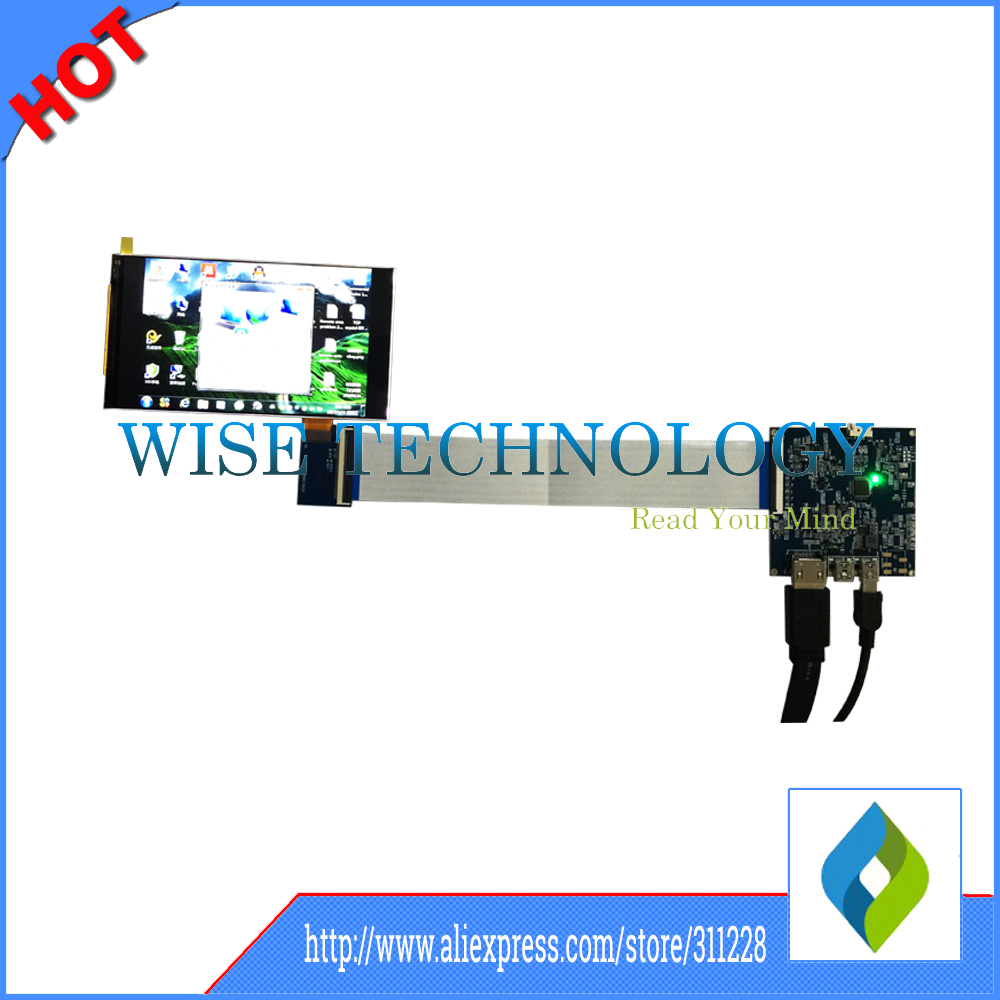 5.5 Inch 1440P Lcd Display 2560x1440 TFT LCD Panels 2K Lcd With HDMI Board