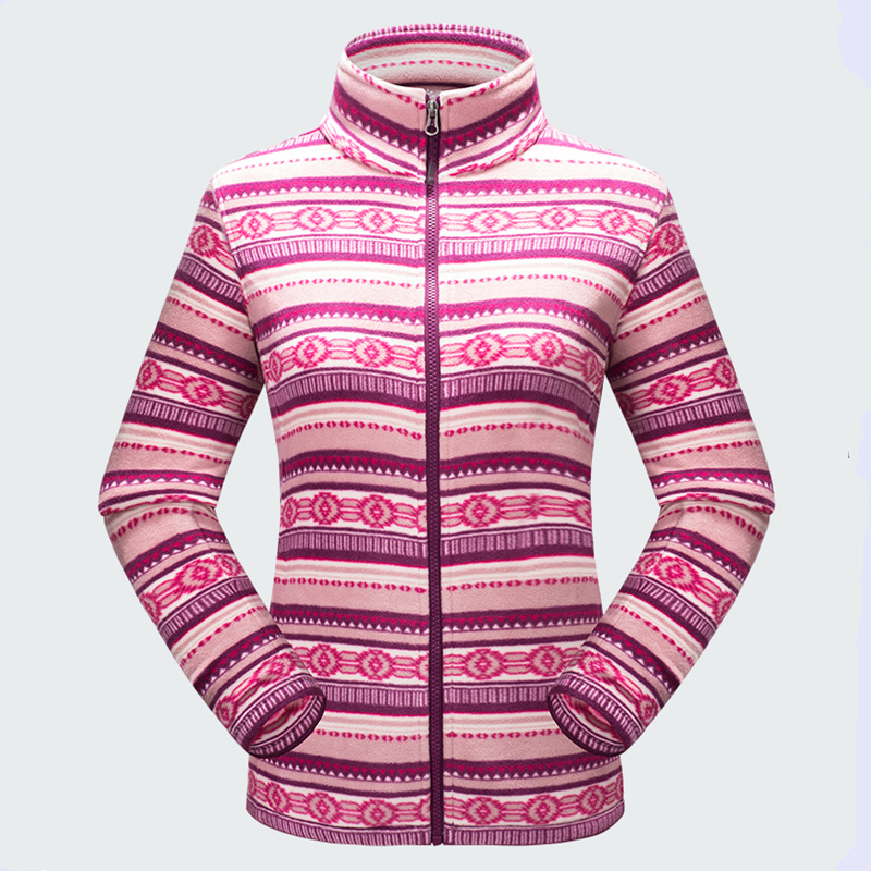 New Autumn Winter Outdoor Women Thermal Polar Fleece Coats Thick Warm Polar