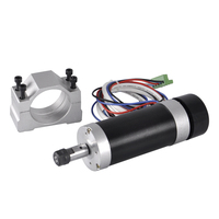 Brushless Spindle 600W Air Cooled Motor Router Spindle ER11 55mm Spindle Clamp Mounting Bracket For Engraver Milling Machine