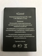 Mobile phone For 4Good batteries S450m BLI-1600 batteries (S450M) 1600mAh battery стоимость