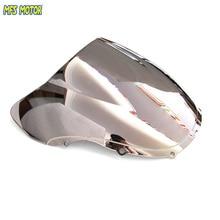 Motorcycle Windshield/Windscreen - Silver For Honda CBR 600 F4 1999 2000 99 00 цена в Москве и Питере