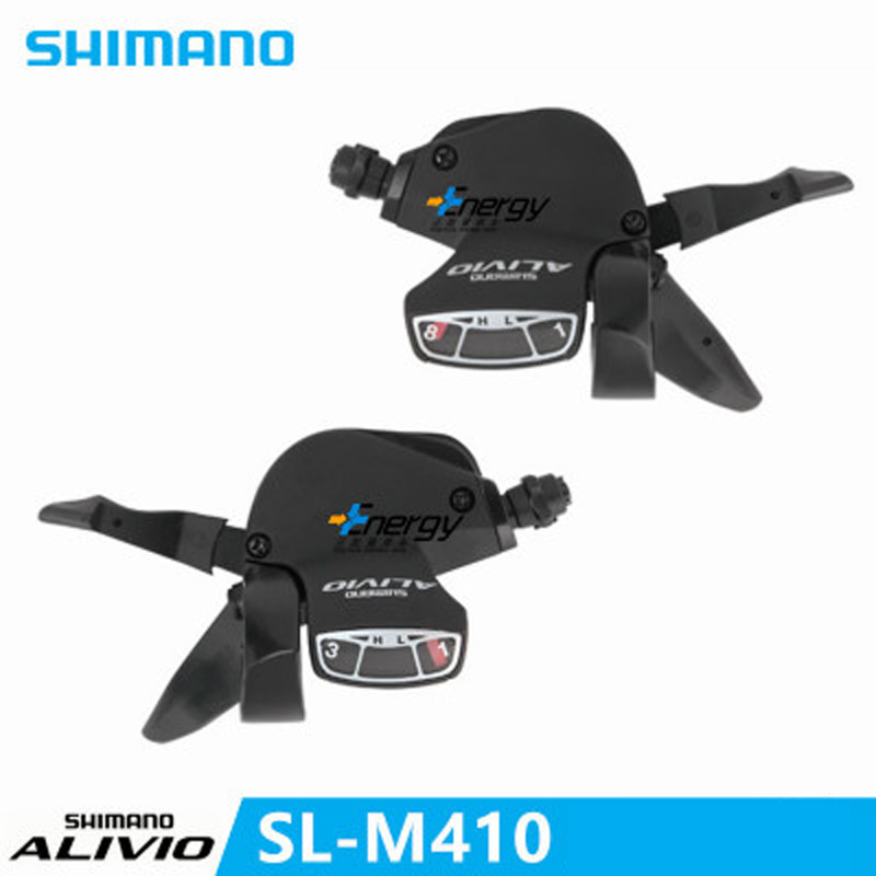 Shimano Alivio M410 Mountain Bike Variable Speed Drive Set Derailleur Switch Xt Deore 3x8 24speed Bicycle Parts Transmission Kit Cycling