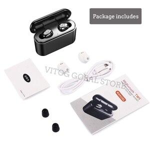 Image 5 - X8 Tws True Draadloze Bluetooth Oortelefoon Headset Waterdichte ipx8 5.0 Mini Sport Oordopjes Blutooth Oortelefoon met Microfoon Opladen Doos