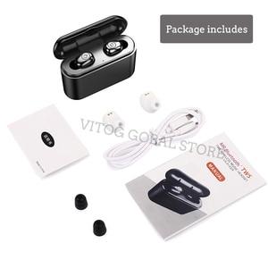 Image 5 - x8 Tws True Wireless Bluetooth Earphones Headset Waterproof ipx8 5.0 Mini Sports Earbuds Blutooth Earphone with Mic Charging Box