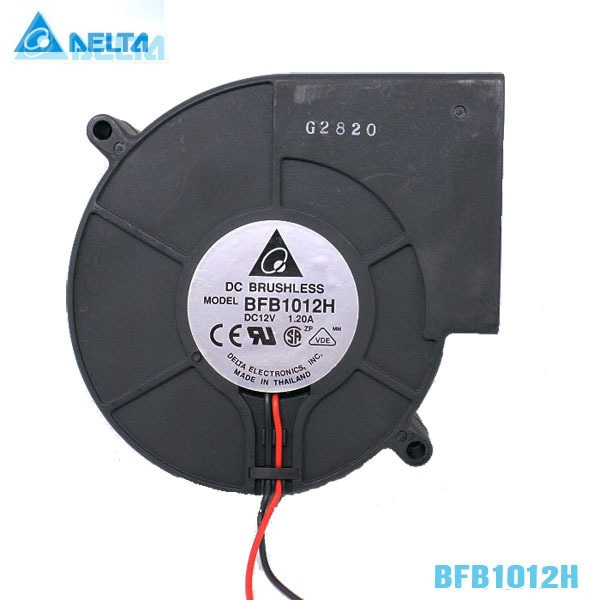 Delta BFB1012H 9CM 97*94*33 9733  12V 1.2A centrifugal fan  pair of holes 100 delta 12038 12v cooling fan afb1212ehe afb1212he afb1212hhe afb1212le afb1212she afb1212vhe afb1212me