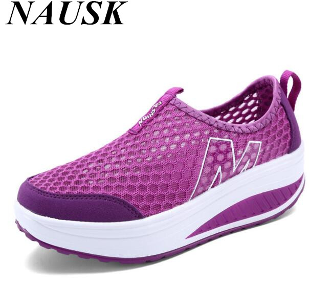 Hot cakes tenis feminino esportivo Fashion Women Casual shoes Breathable mesh Chaussures sapatenis feminino tenis feminino
